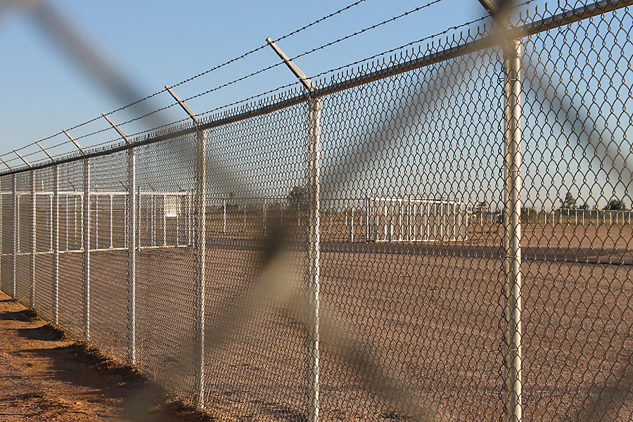 New perimeter fencing at Ak-Chin Regional