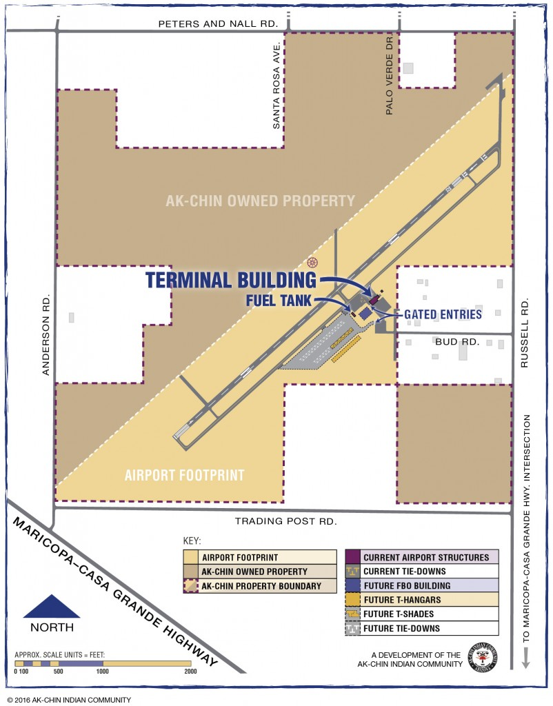 Ak-Chin Regional Airport Site Plan