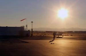 Ak-Chin-Regional_sunset_plane_apron